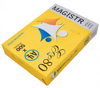 Бумага Magistr Eco 80g/m2, A4, 500л, class C, белизна 150% CIE