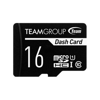 Карта памяти MicroSDHC 16GB UHS-I Class 10 Team Dash Card + SD-adapter (TDUSDH16GUHS03)